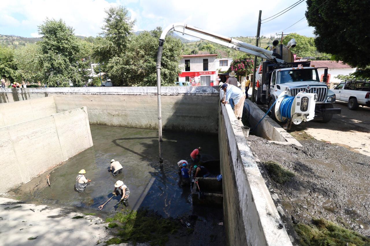 Trabaja SAPAO para restablecer el suministro en la zona norponiente de la capital