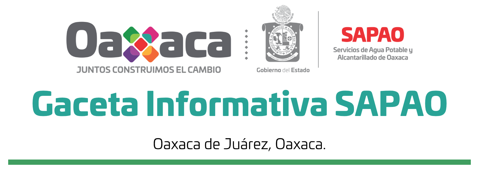 Gaceta informativa SAPAO Marzo 2020