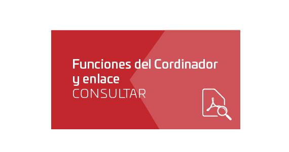 Funciones del Cordinador y enlace