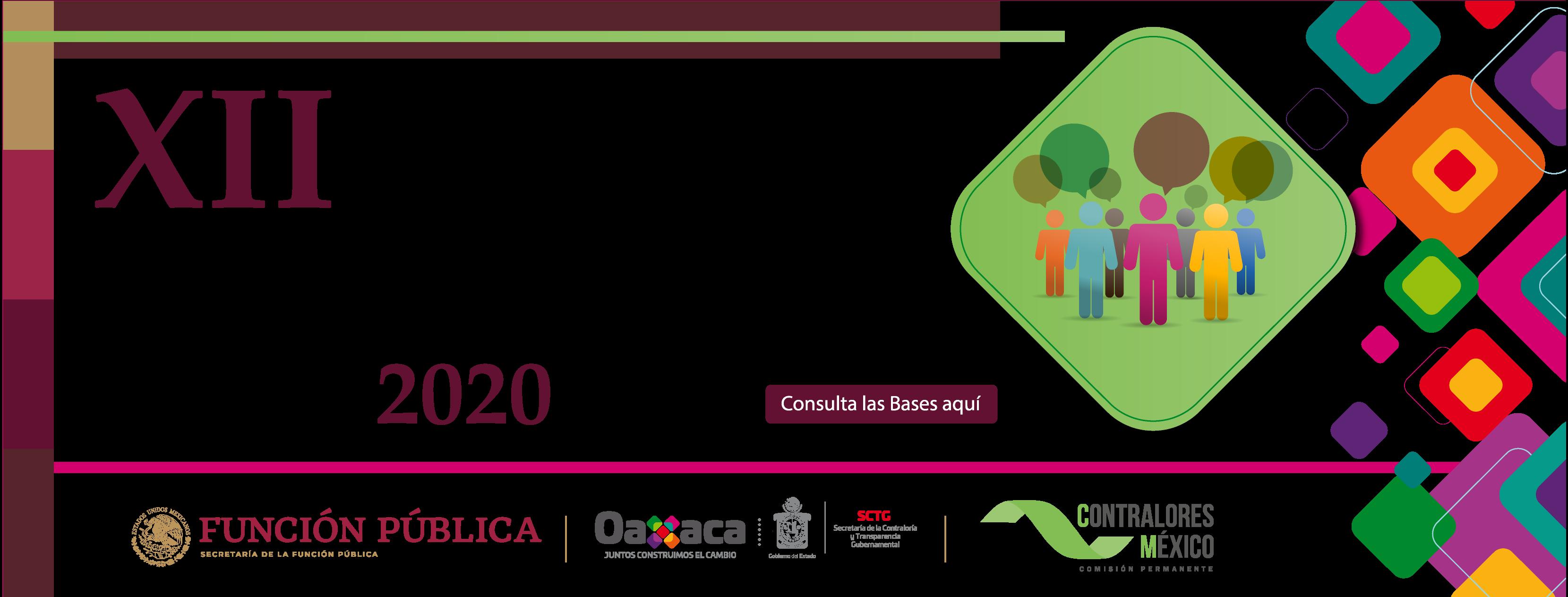 Convocatoria del Premio Nacional de Contraloría Social 2020