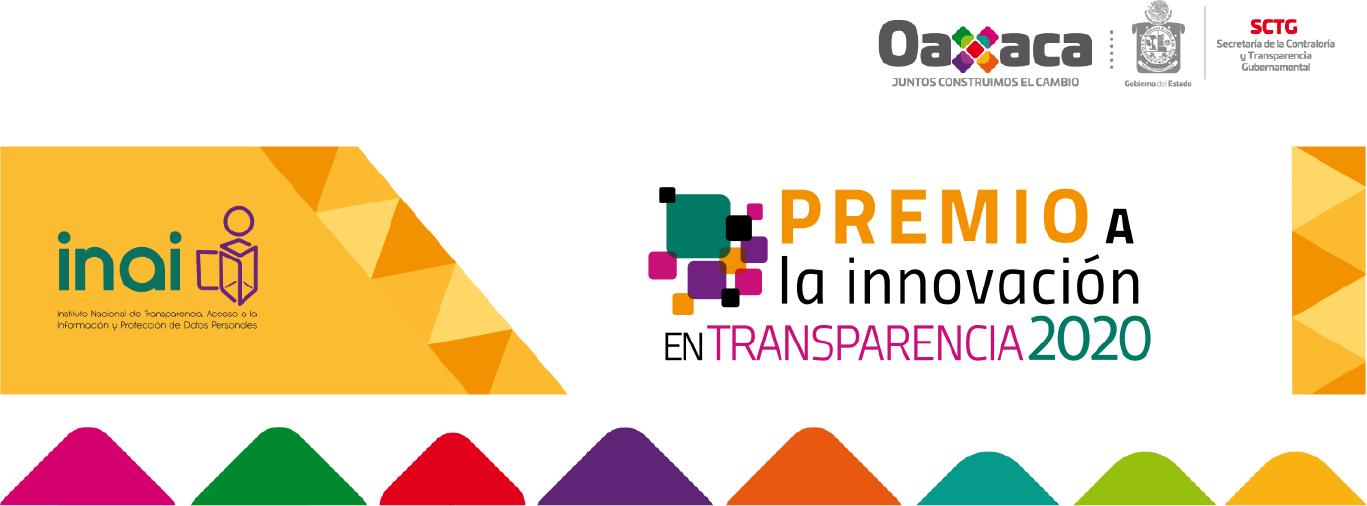 Premio a la Innovación en Transparencia
