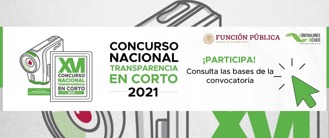 Concurso de Transparencia en Corto 2021