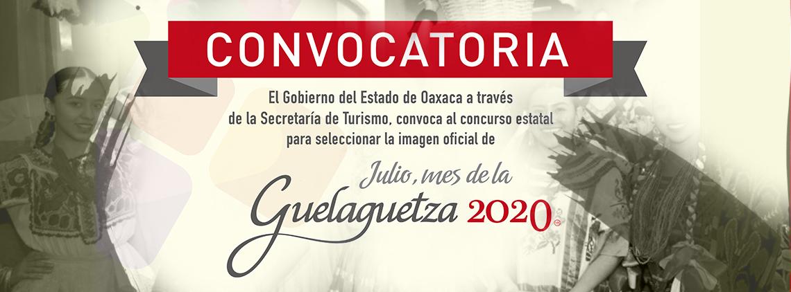 Convocatoria imagen Guelaguetza 2020