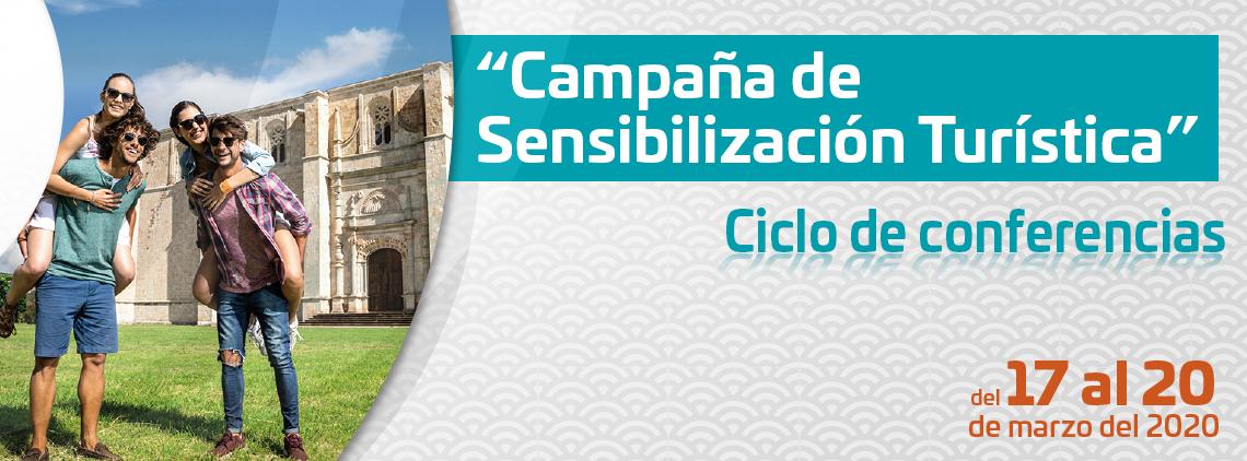 Campaña de Sensibilización Turística | Ciclo de conferencias