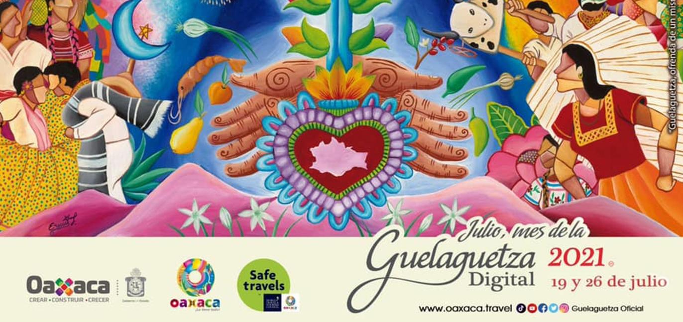 Julio mes de la Guelaguetza 2021