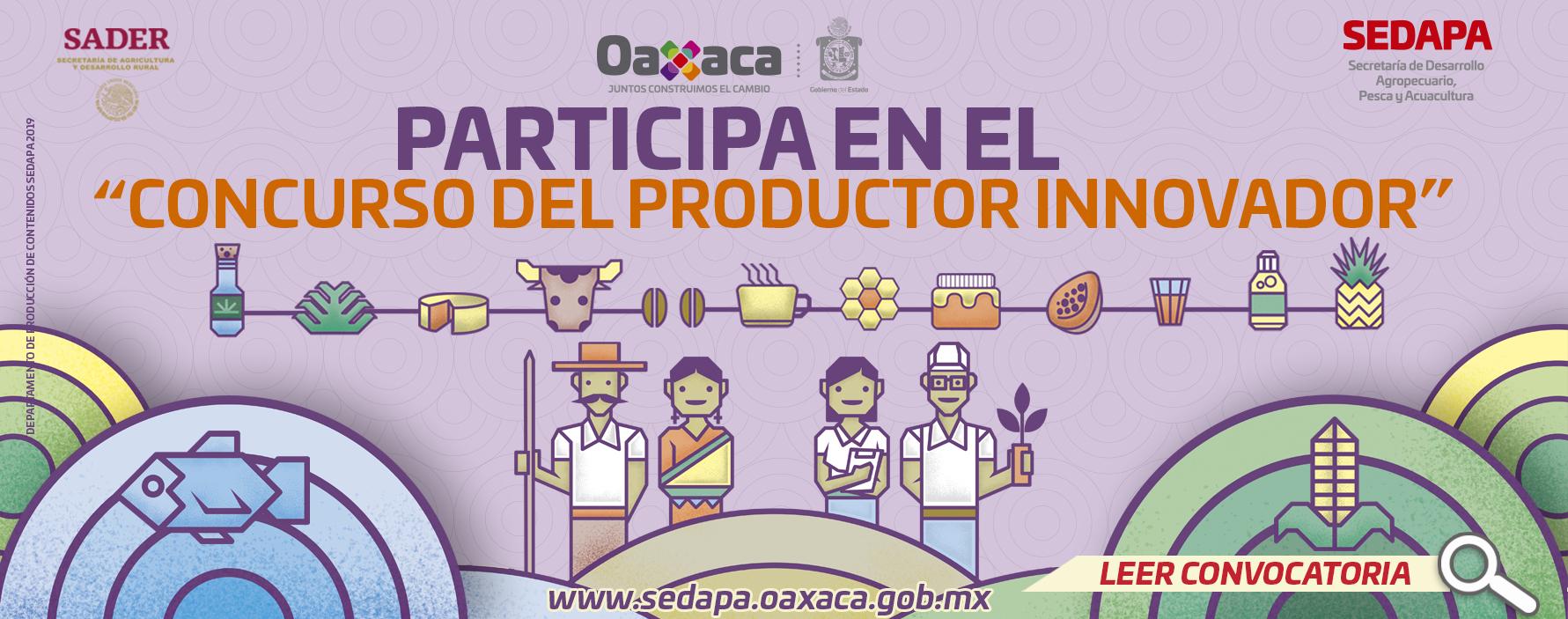 """Convocatoria """"Productor Innovador"""""""