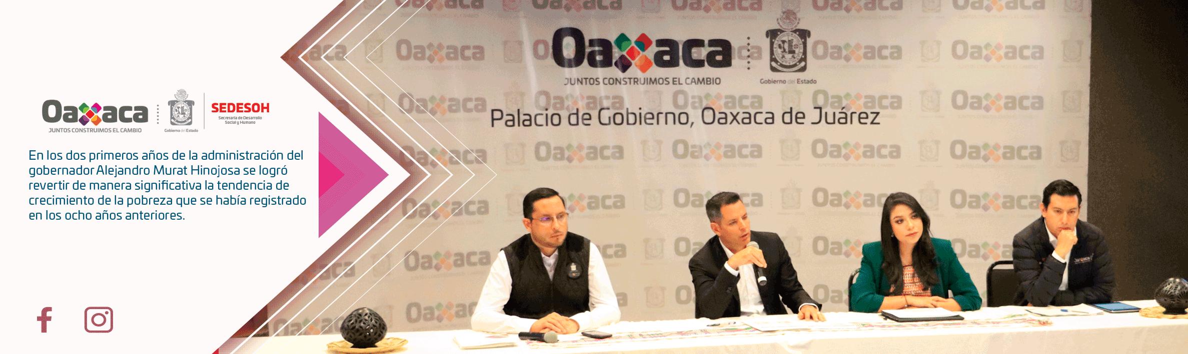 En los dos primeros años de la administración del gobernador Alejandro Murat Hinojosa