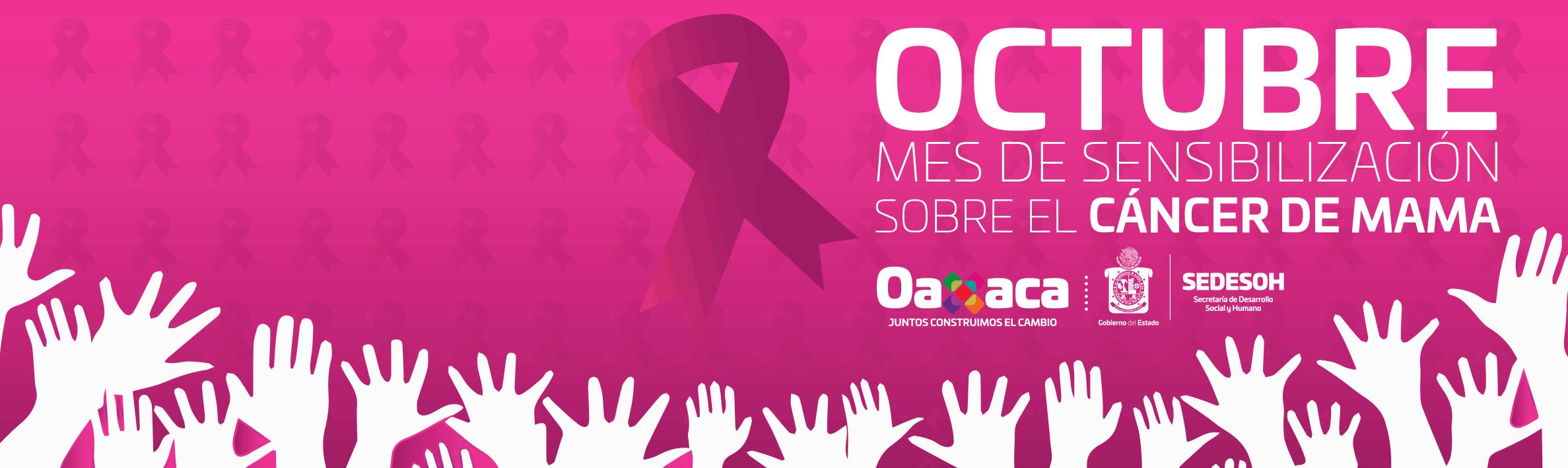 octubre mes cáncer de mama