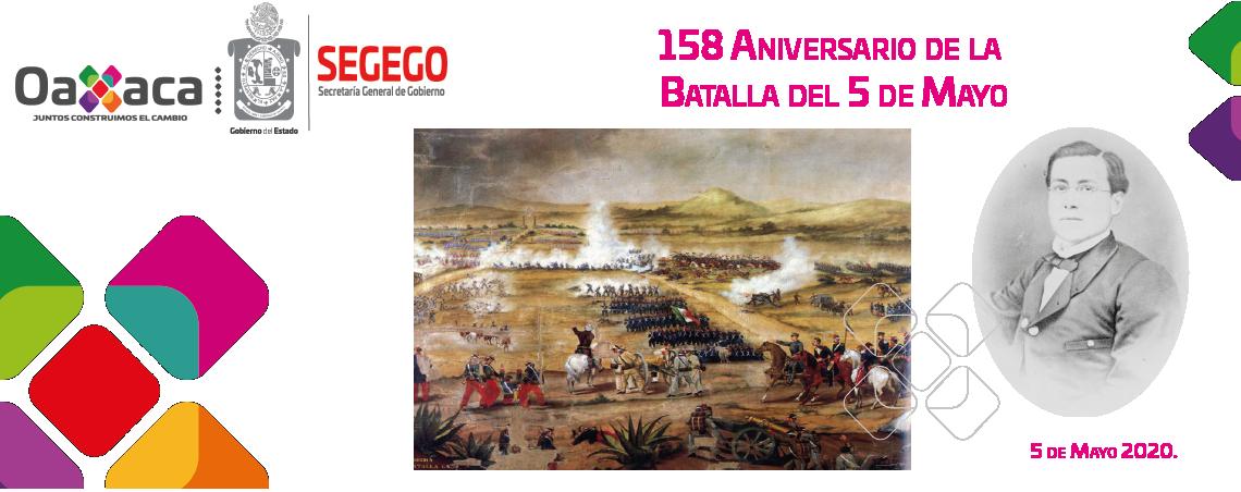 158 Aniversario de la Batalla de Puebla