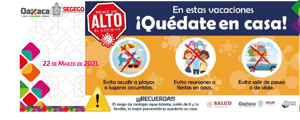 SEGEGO exhorta a las autoridades municipales a cancelar todos los eventos públicos por motivo de Semana Santa