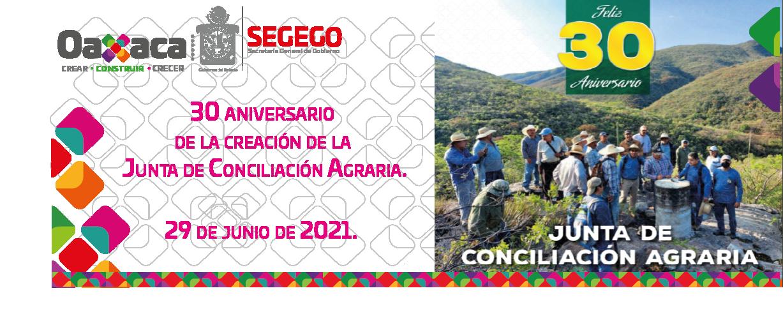 30 Aniversario de la Junta de Conciliación Agraria