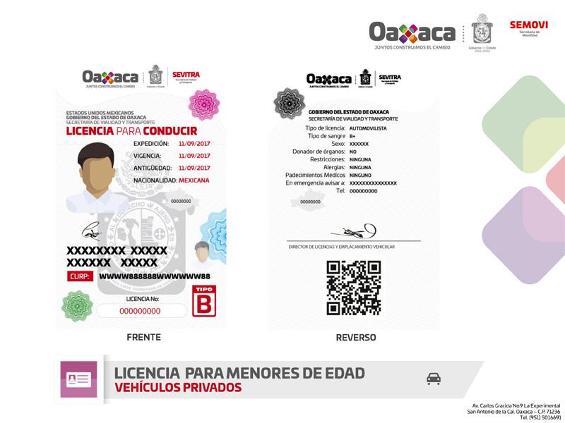 Licencia Para Menores Secretaría De Movilidad