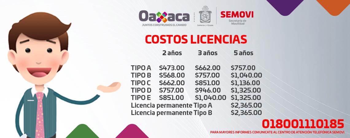 Costos Licencia