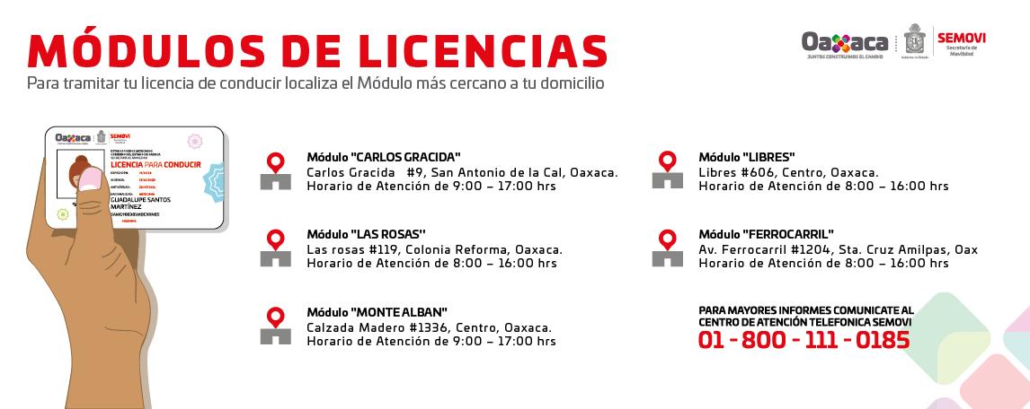 Modulos de Licencias de Conducir