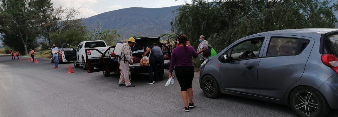 """Pueblos de Oaxaca, toman propias medidas ante """"nueva normalidad"""""""