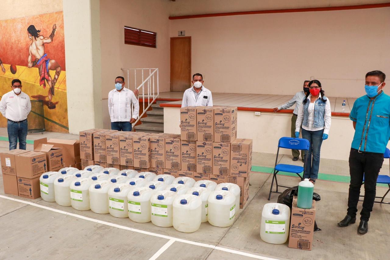 Fortalece Sepia medidas de prevención ante el COVID-19  en los pueblos de Oaxaca