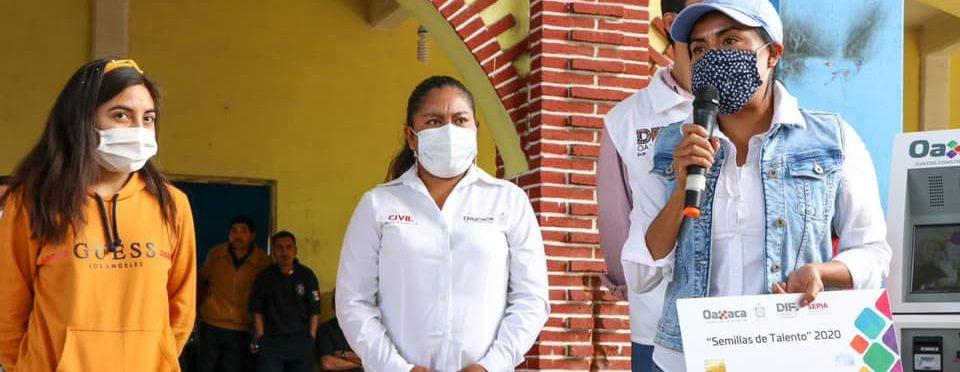 Gobierno de Oaxaca construye bienestar en Santa María Quiegolani