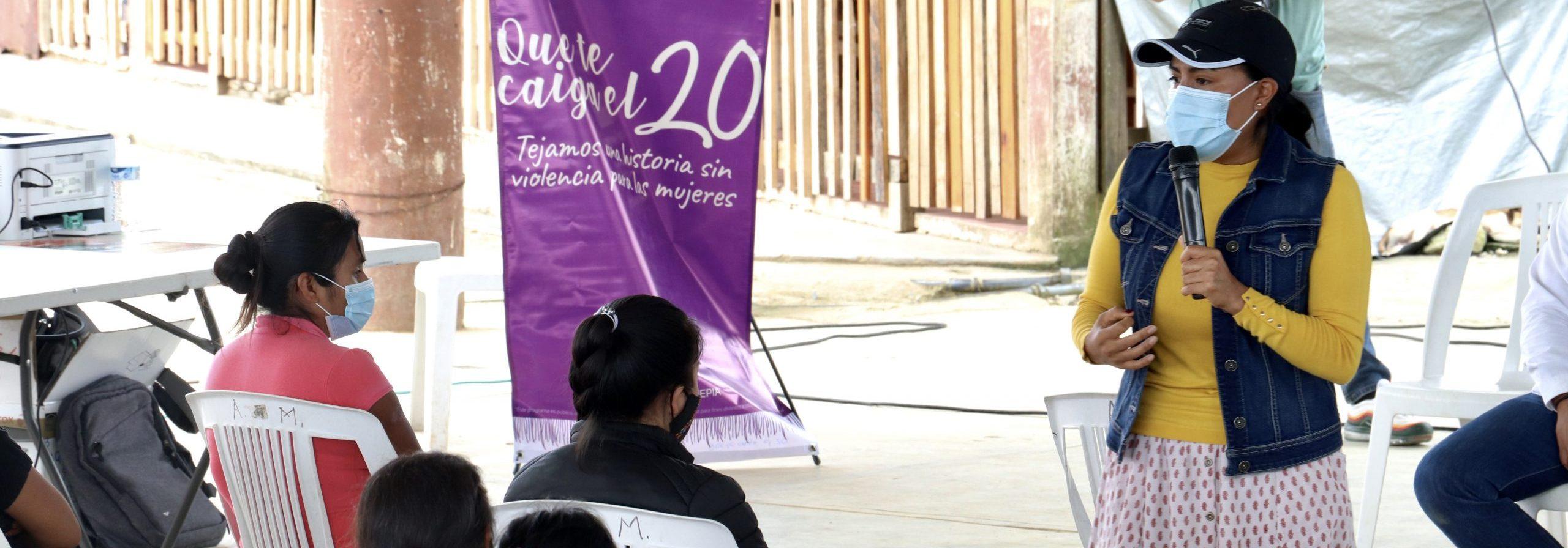Implementa SEPIA campaña contra la violencia de género, en comunidades indígenas y afromexicanas