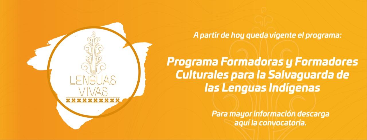 """Programa """"Lenguas Vivas"""" 2021"""