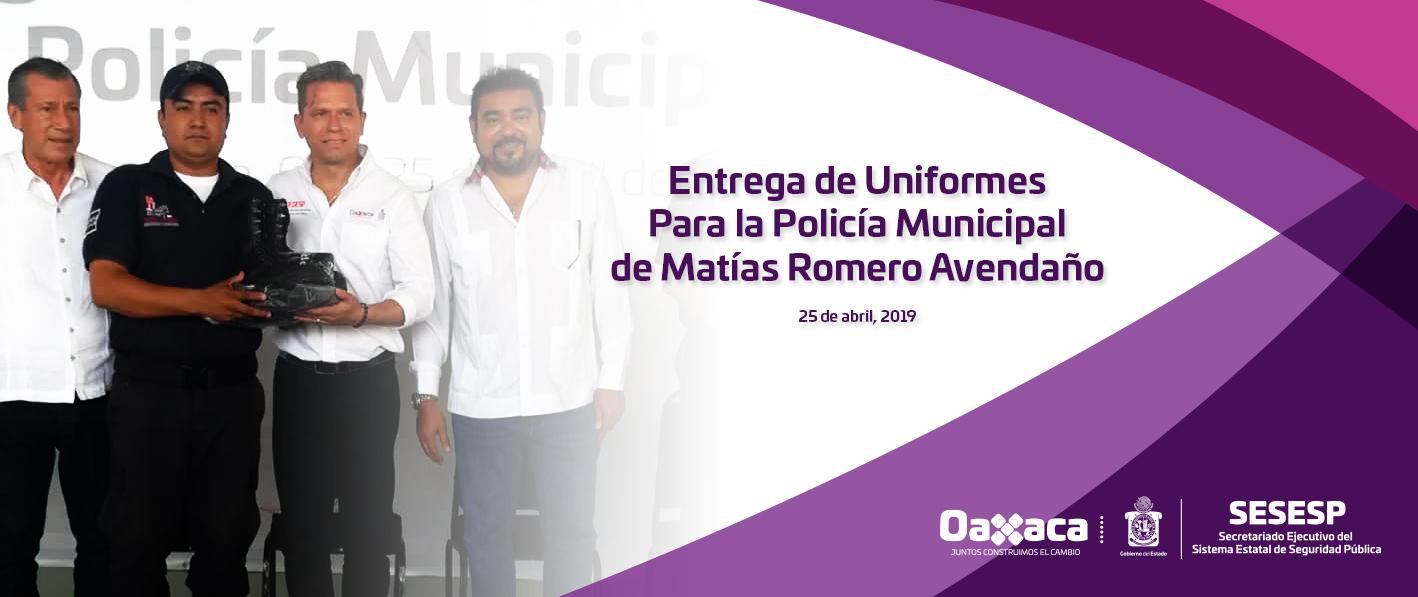 Entrega de uniformes
