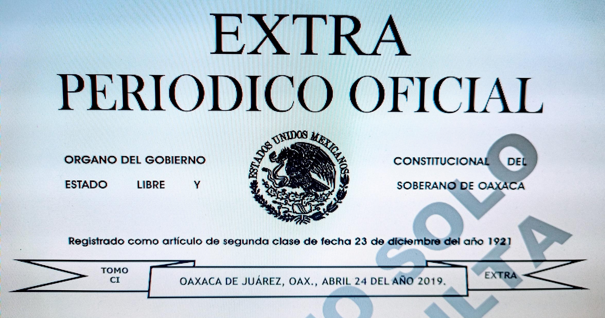 Reglas de Integridad para Servidoras y Servidores Públicos del PEO