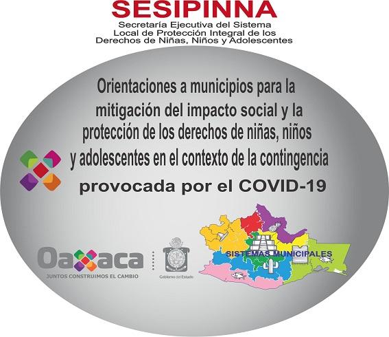 Orientaciones a municipios para la mitigación del impacto social y la protección de los derechos de niñas, niños y adolescentes en el contexto de la contingencia provocada por el COVID-19