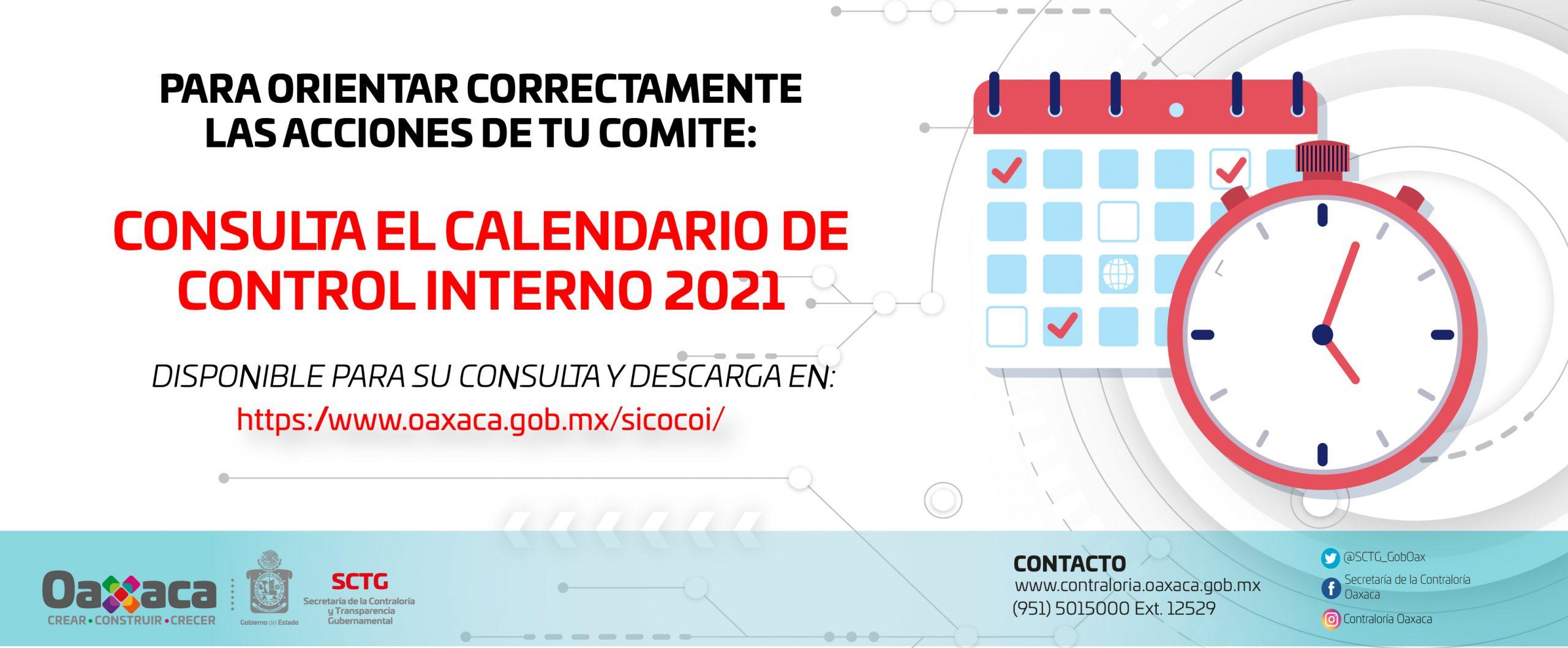 Calendario SCI 2021