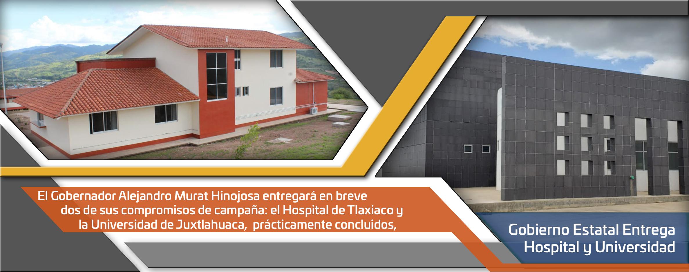 Gobierno de Oaxaca entrega la Universidad de Juxtlahuaca y el Hospital de Tlaxiaco
