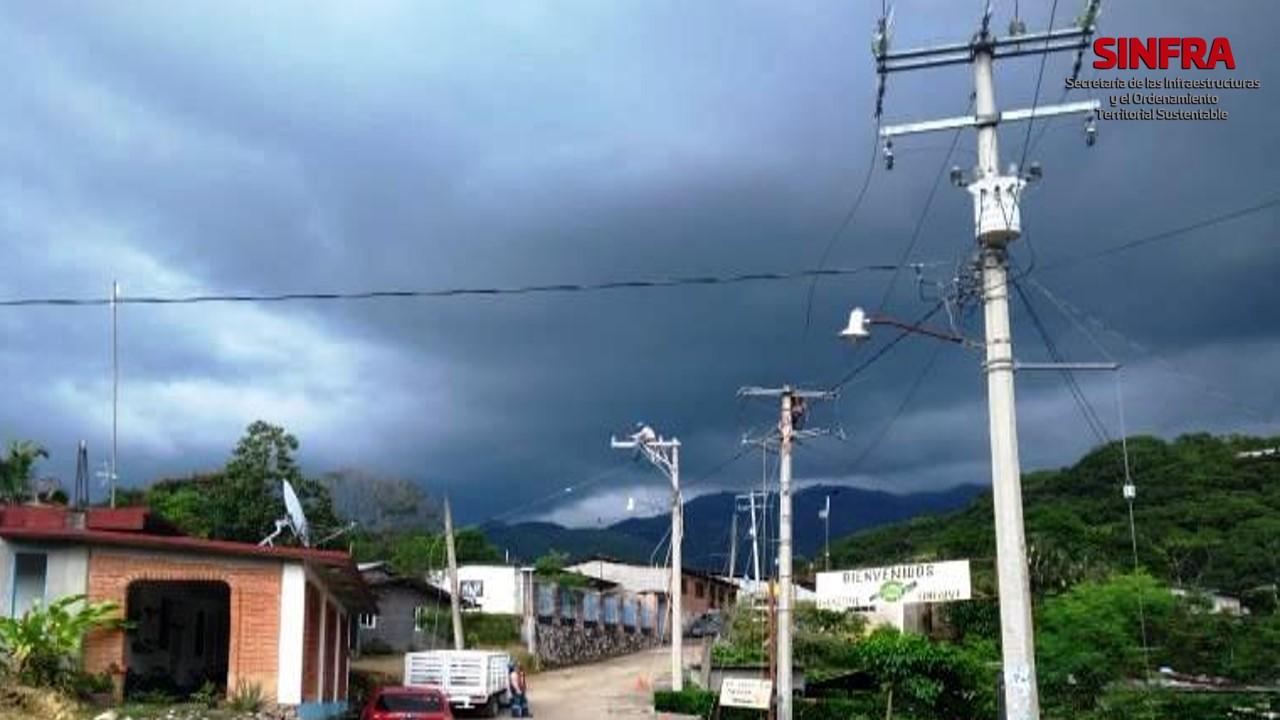 San Pedro Siniyuvi- electrificación