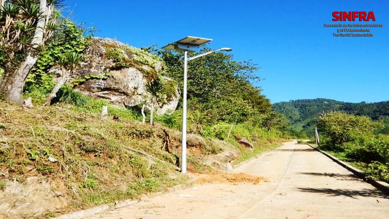 Santa María Ozolotepec- electrificación 2