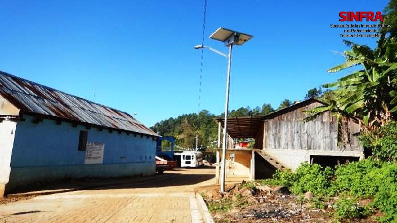 Santa María Ozolotepec- electrificación