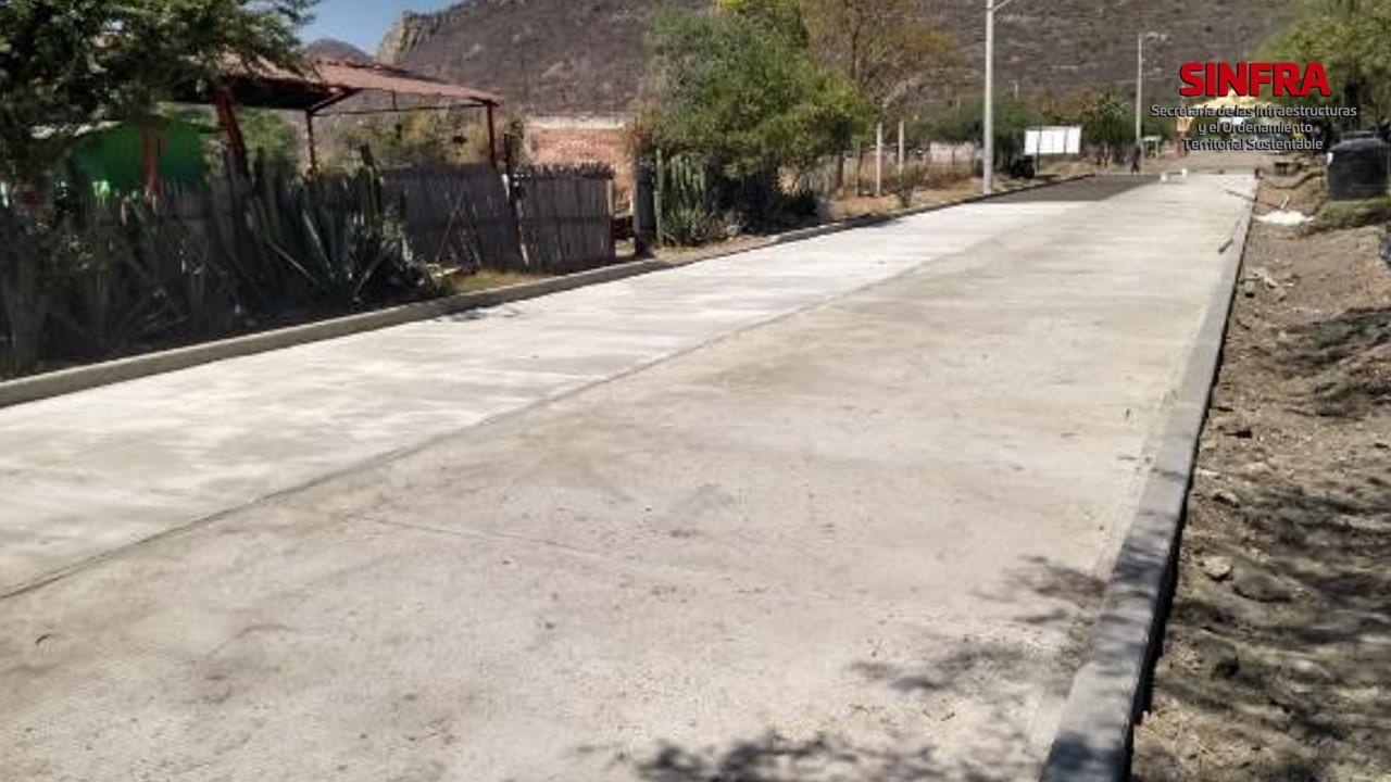 Calle E.C. (Oaxaca-Tehuantepec)- Unión Zapata_ San Pablo Villa de MItla.