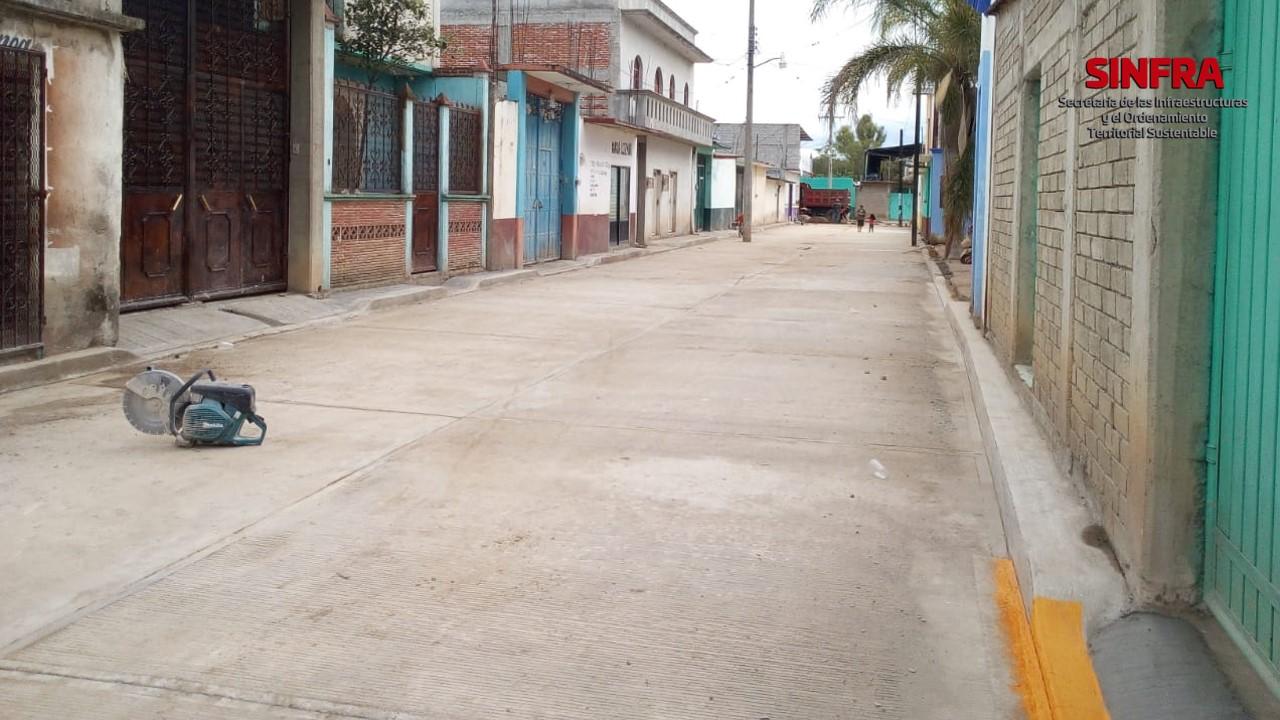 Calle Independencia Santiago Apóstol, Ocotlán.
