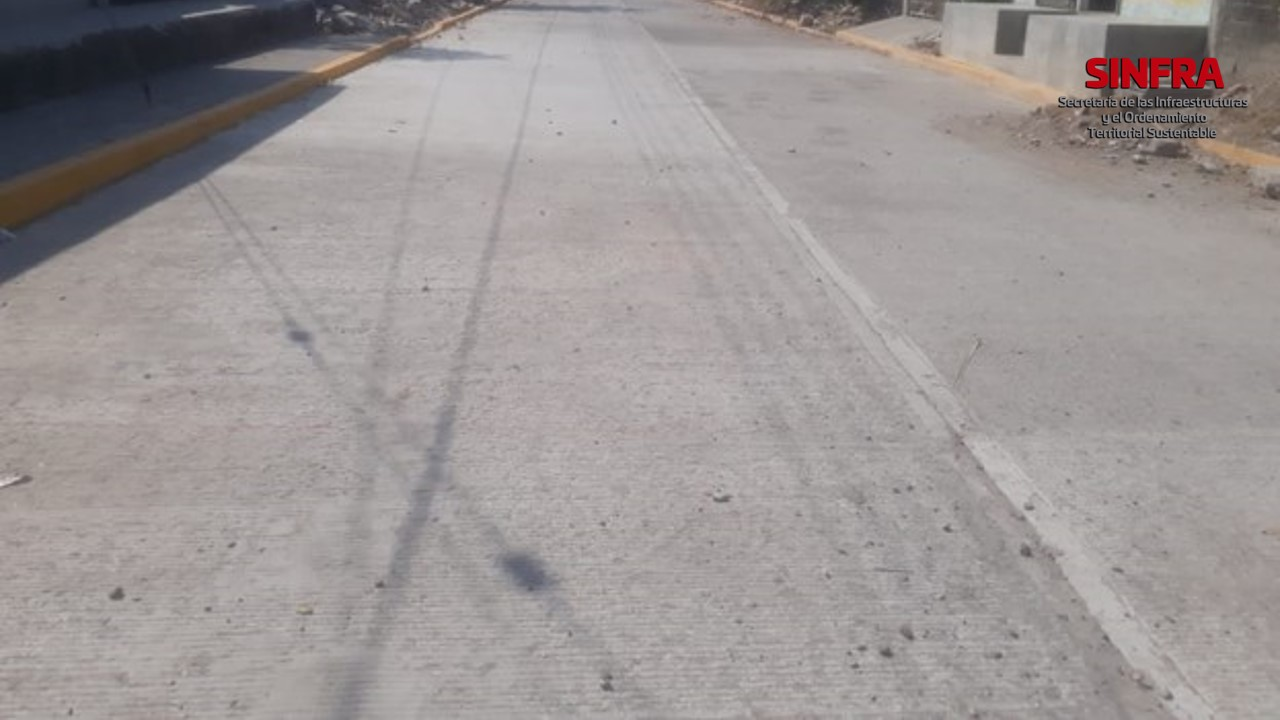 Calle Insurgentes. Santa María Xiadani.