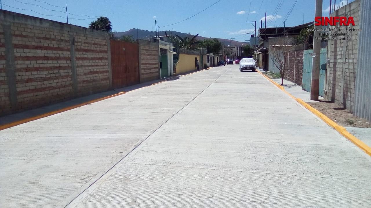 Calle Teposcolula, Oaxaca de Juárez.