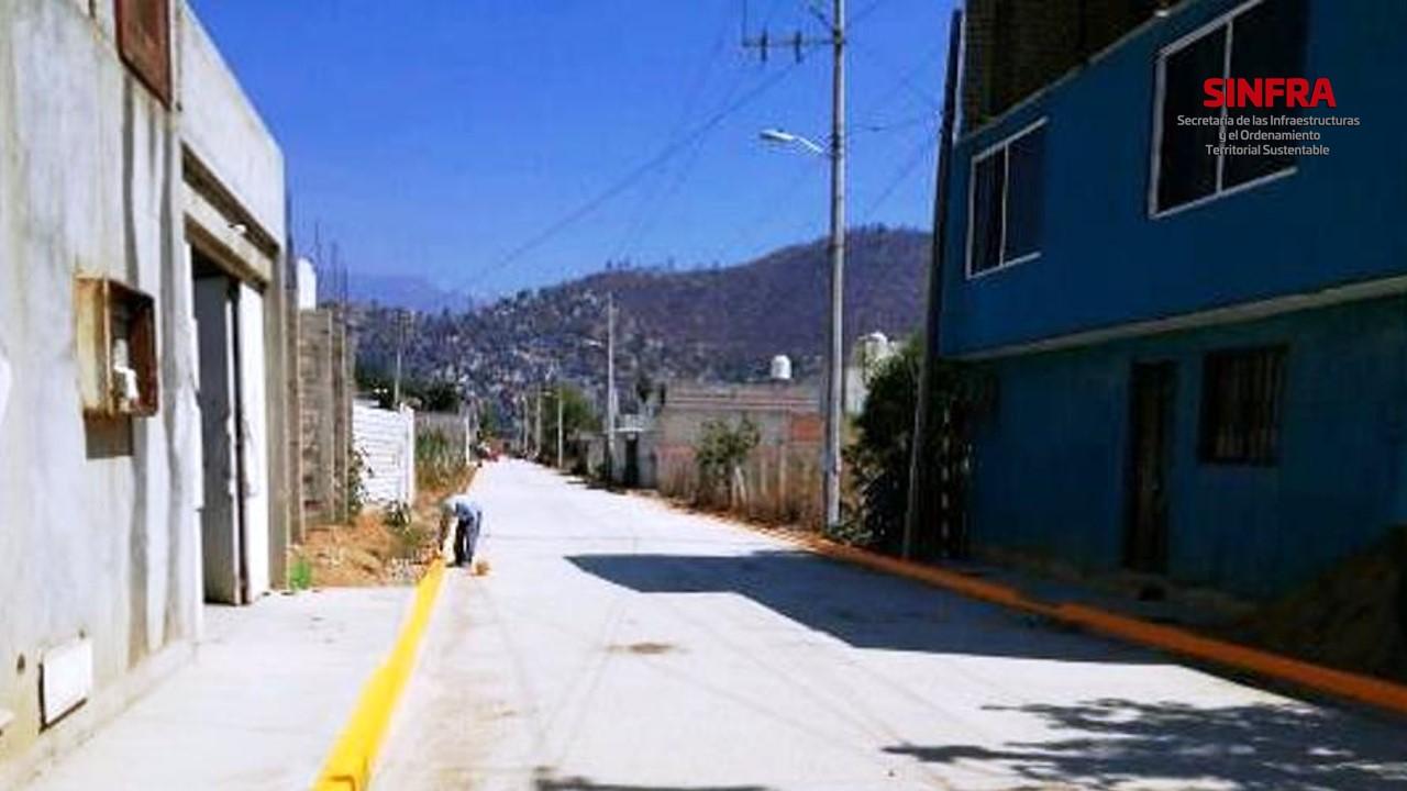 Calle Teposcolula- Oaxaca de Juárez