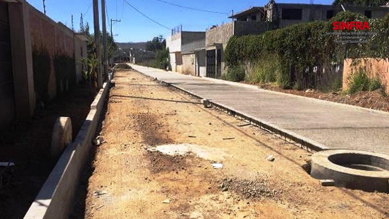Calle Teposcolula-Oaxaca de Juárez