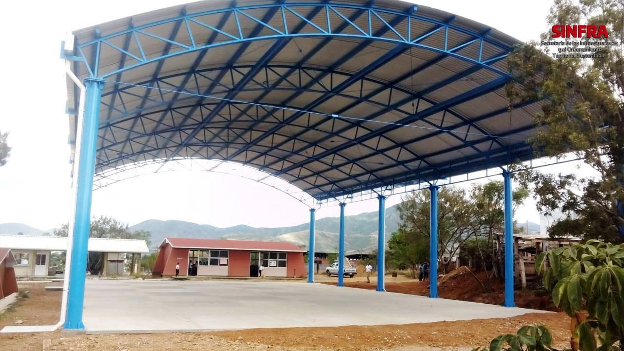 Techado Escuela Javier Mina Ocotlán