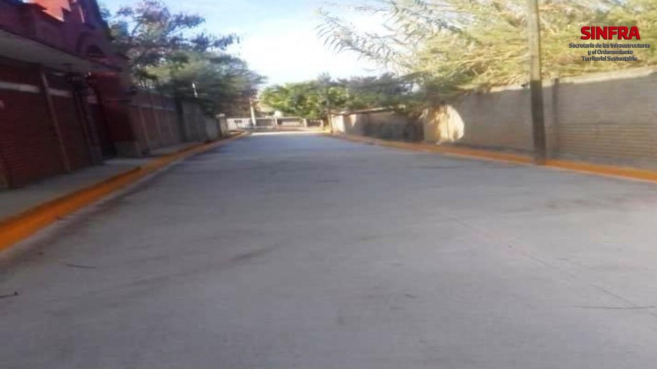 Pavimentación San Juan Teitipac