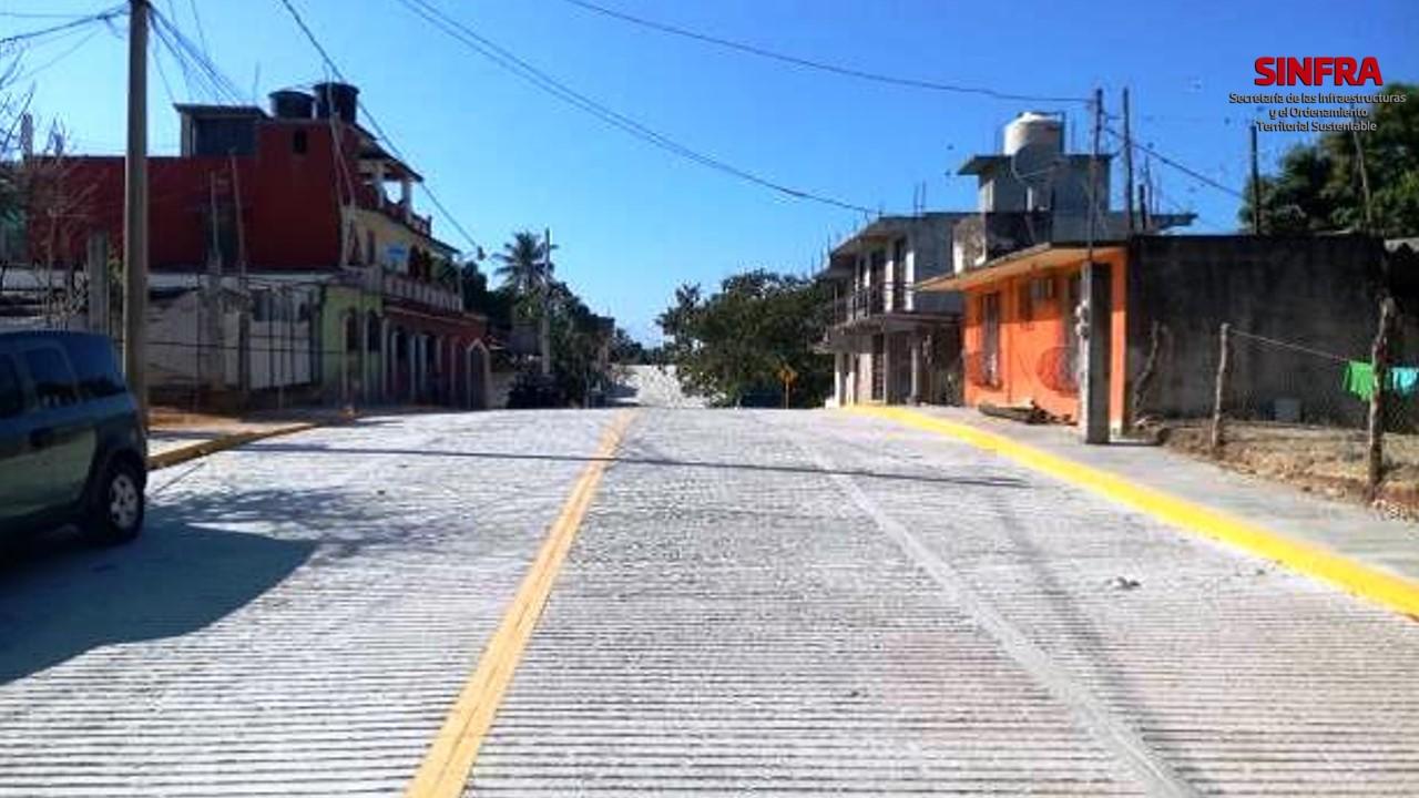Pavimentación Puerto Escondido