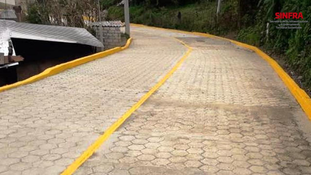 Pavimentación Santa María Tepantlali