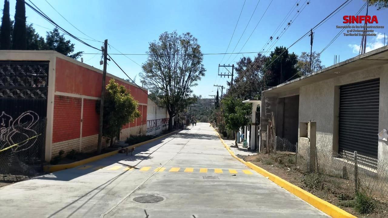Pavimentación Santa Cruz Xoxocotlán