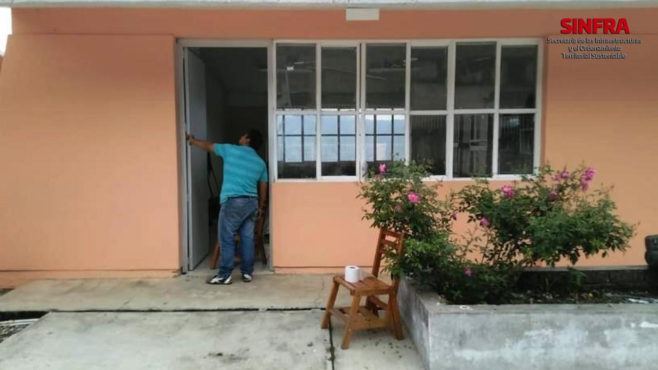 Aula, Escuela Benito Juárez, San Juan Yalahui