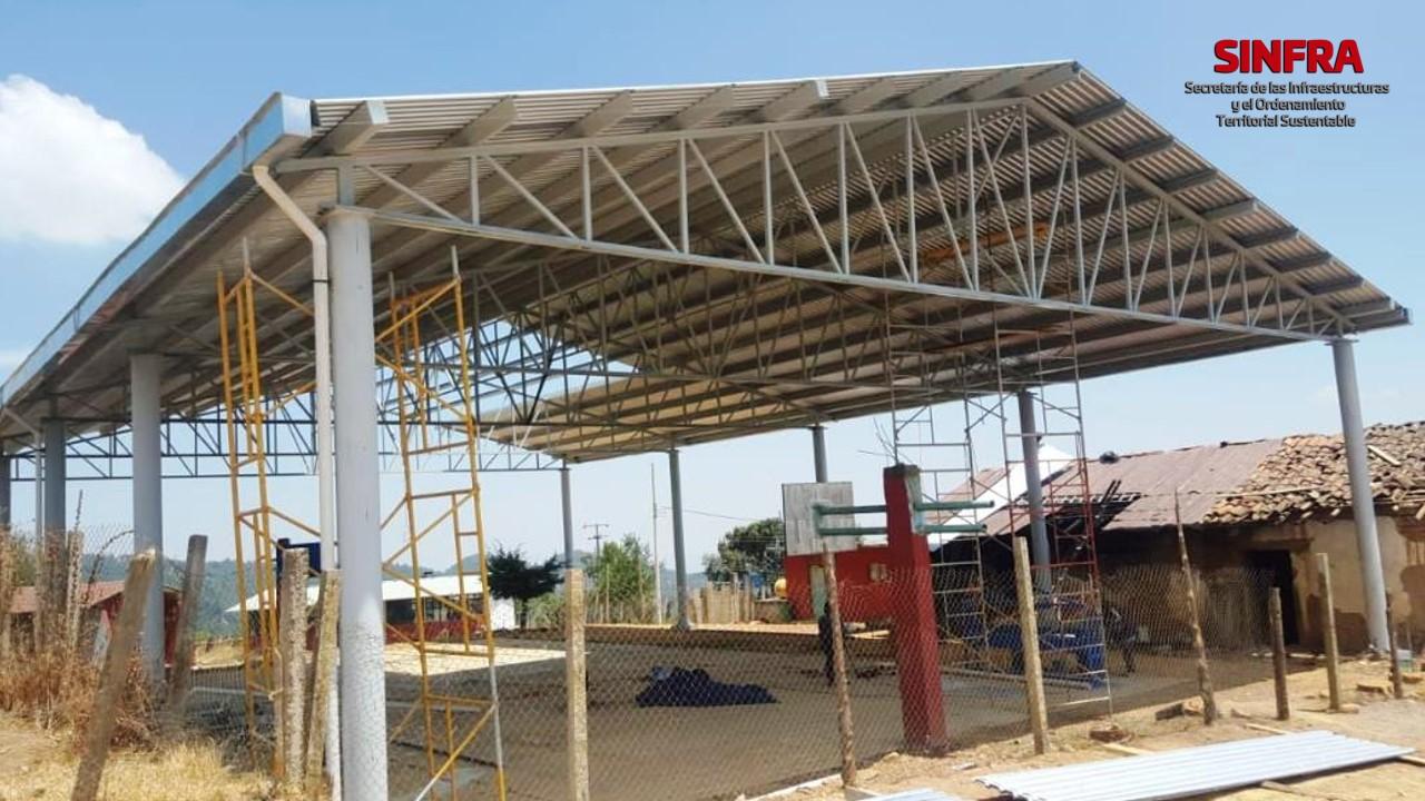 Techado Secundaria Técnica 81, San Juan Mixtepec