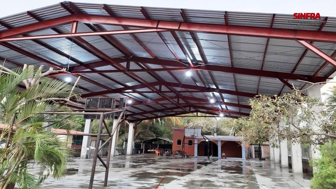 """Techado Escuela Primaria Federal """"Emiliano Zapata"""" El Venado Tututepec"""
