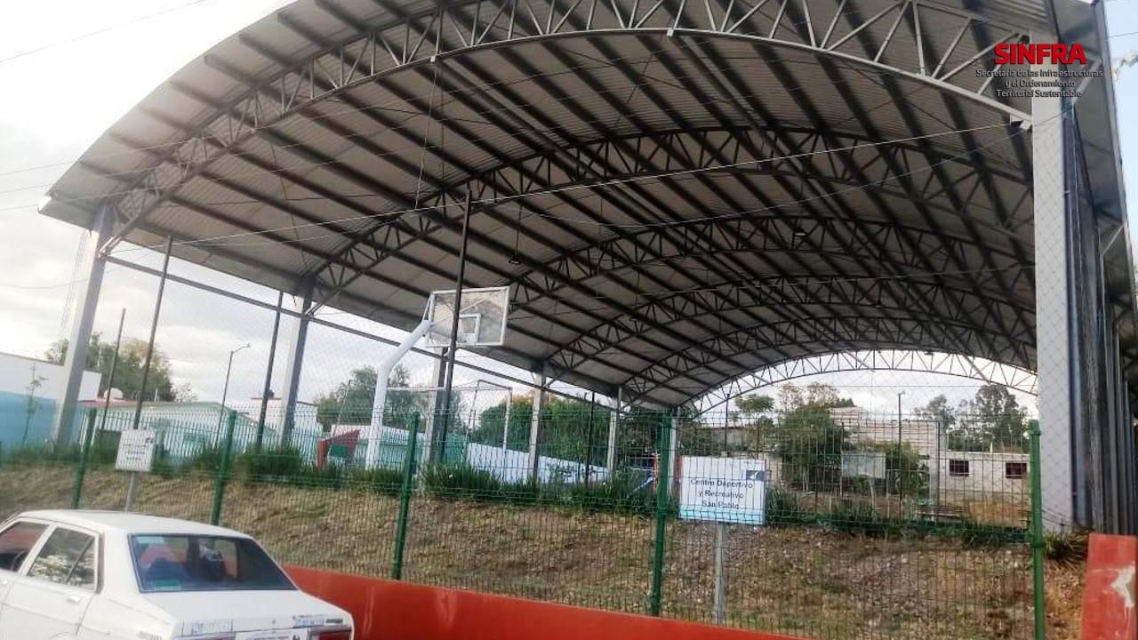 Techado Escuela Primaria Ignacio Allende Chalcatongo