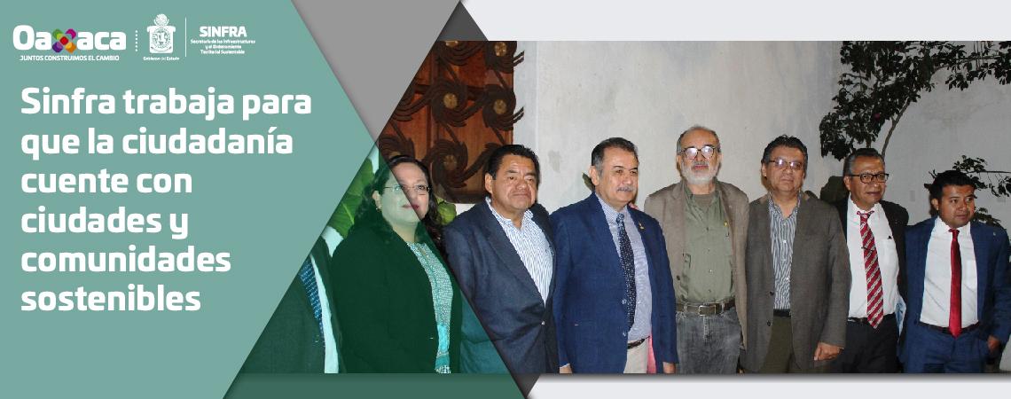SINFRA TRABAJA PARA QUE LA CIUDADANÍA CUENTE CON CIUDADES Y COMUNIDADES SOSTENIBLES