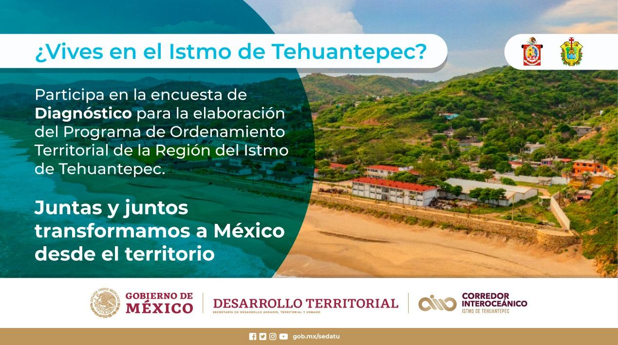 Gobierno de Oaxaca avanza en trabajos de ordenamiento territorial en el Istmo de Tehuantepec