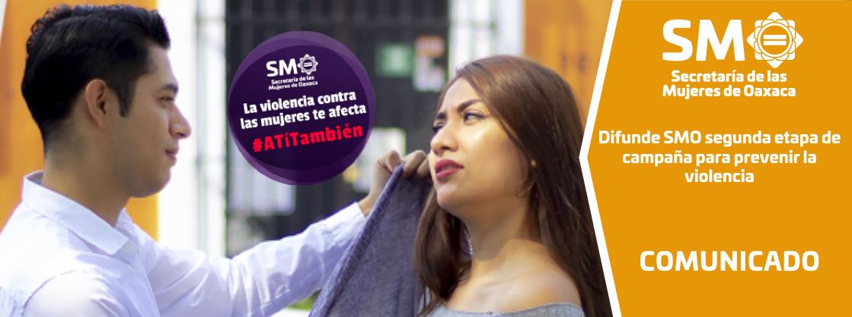 Difunde SMO segunda etapa de campaña para prevenir la violencia
