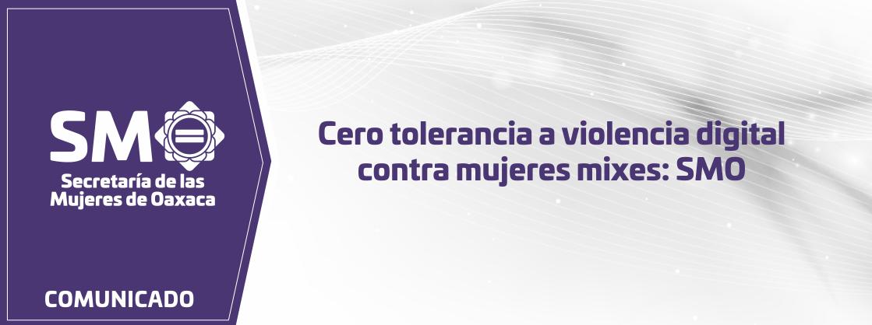 Cero tolerancia a violencia digital contra mujeres mixes: SMO
